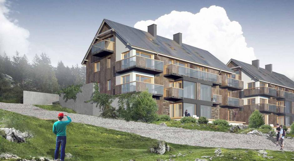 Projekt Szklarska: z widokiem na szczyty gór