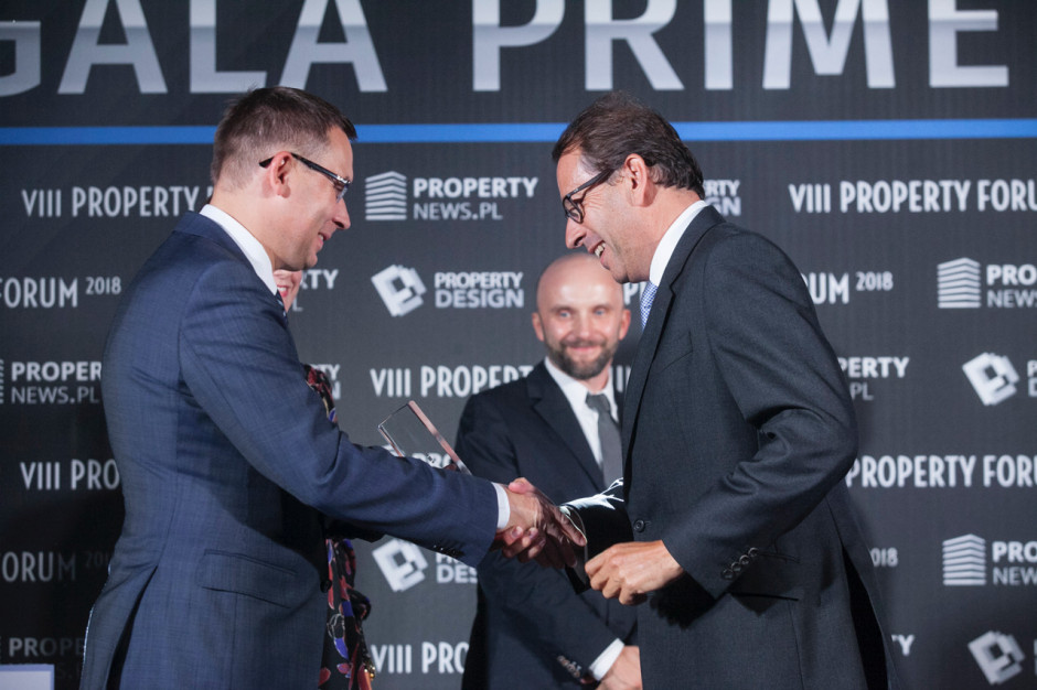 Charles Taylor, Head of Poland Cushman & Wakefield i Wojciech Kuśpik, prezes PTWP.