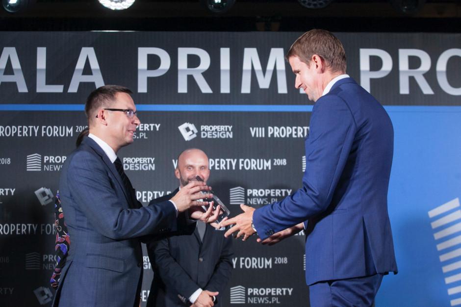 Nicklas Lindberg, prezes zarządu Echo Investment i Wojciech Kuśpik, prezes PTWP.