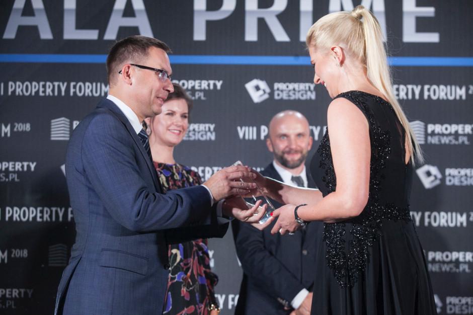 Ewelina Kałużna, dyrektor ds. wynajmu i zarządzania portfelem nieruchomości, Skanska Property Poland i Wojciech Kuśpik, prezes PTWP.