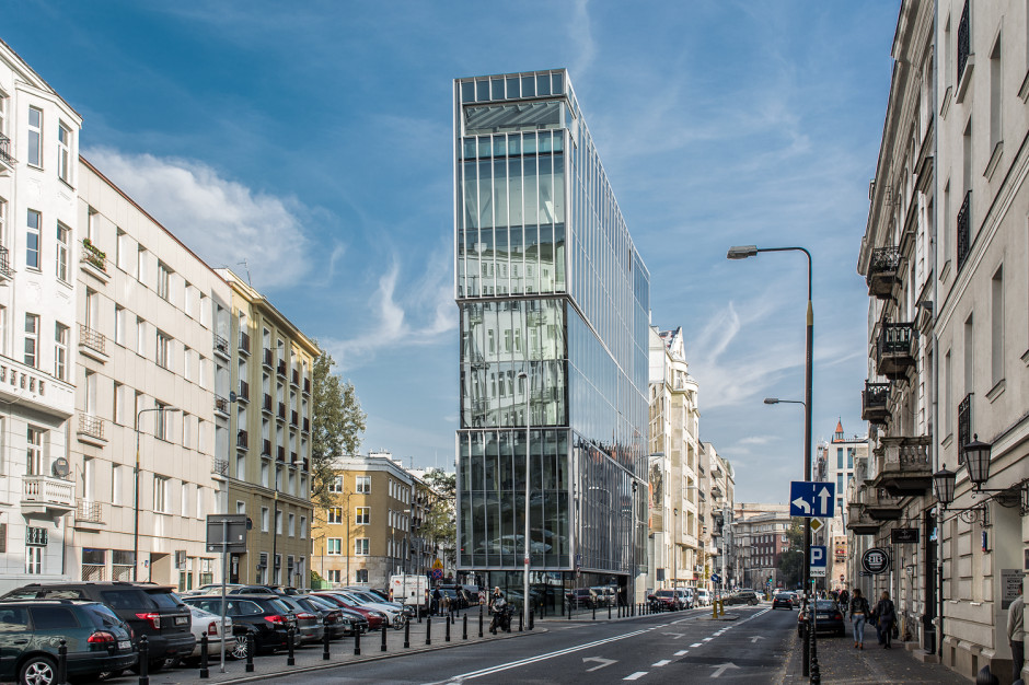 Budynek The Nest, fot. Mikołaj Lelewski
