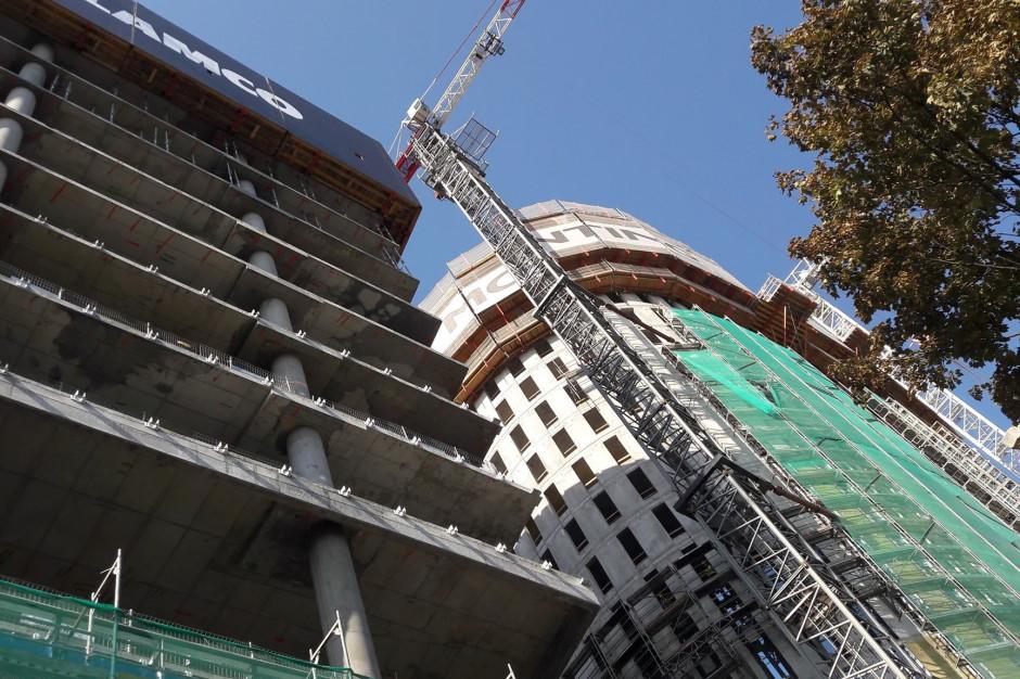 Stołeczne wieże pną się w górę. Zaglądamy na plac budowy The Warsaw HUB