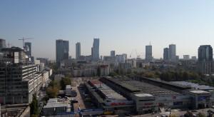 Różowy punkt w centrum Warszawy