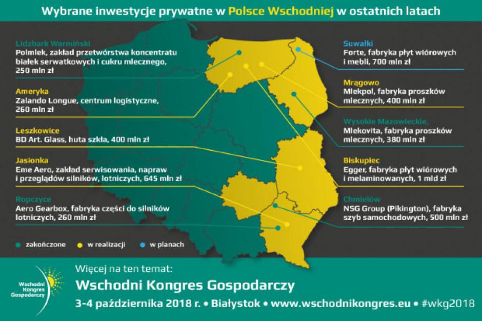 Polska Wschodnia coraz śmielej wchodzi do inwestycyjnej gry