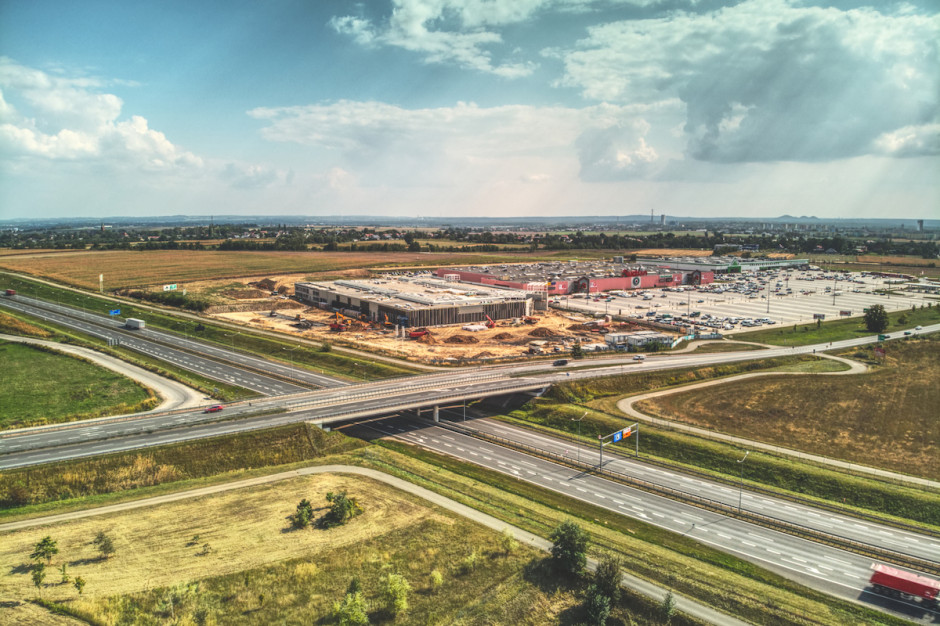 Zaglądamy na plac budowy Silesia Outlet