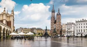 Kraków stoi w korku