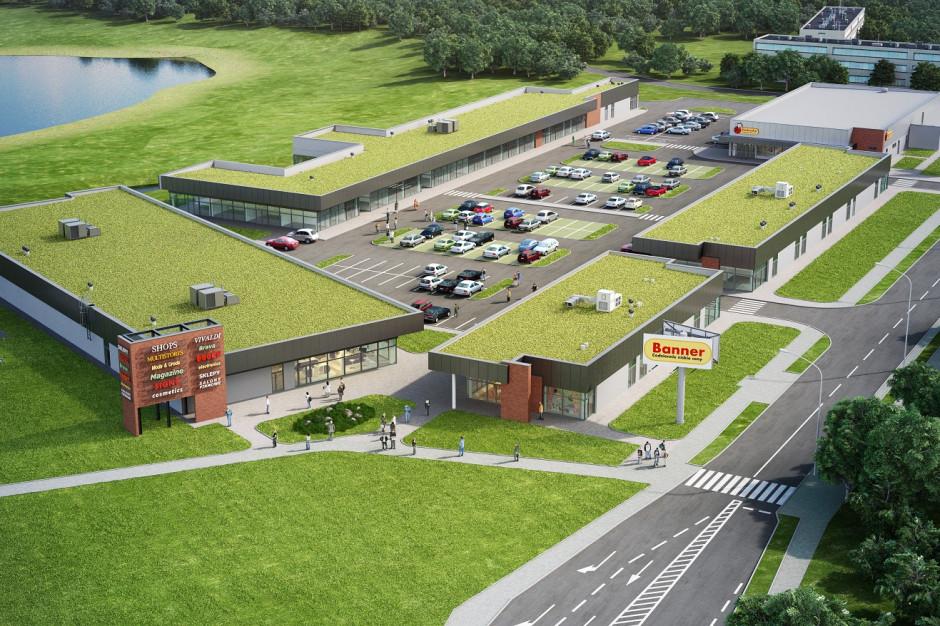 Park Handlowy Głowno czeka rozbudowa. Martes Sport wśród nowych najemców