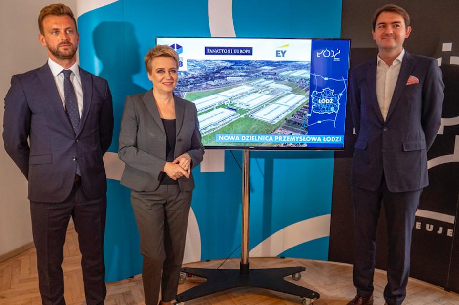 Ponad 180 ha zabudowanych halami. Panattoni buduje przemysłową dzielnicę Łodzi