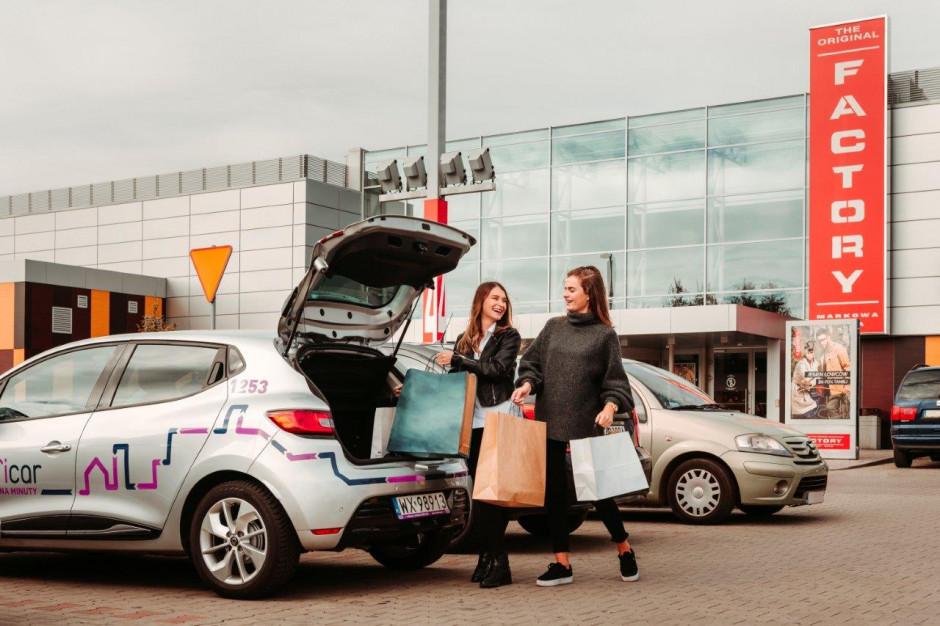 Car sharing w outletach. Neinver i Traficar podsumowują efekty współpracy