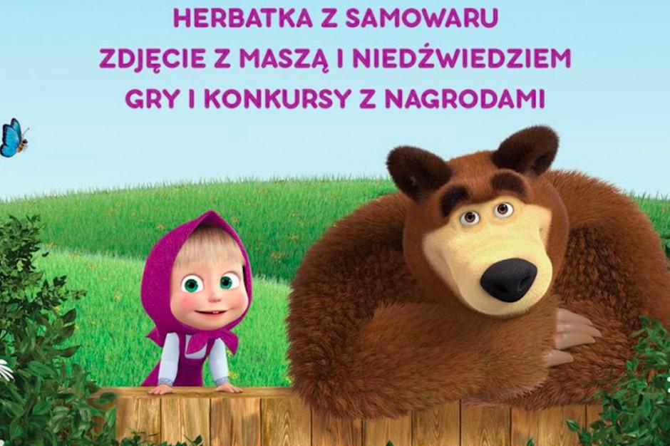 Masza i niedźwiedź przyjadą do Galerii Gryf