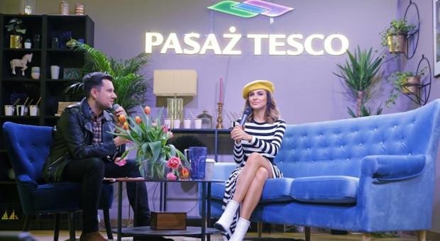 Mateusz Gessler, Natalia Siwiec i Marta Gałuszewska świętowali w Pasażu Tesco