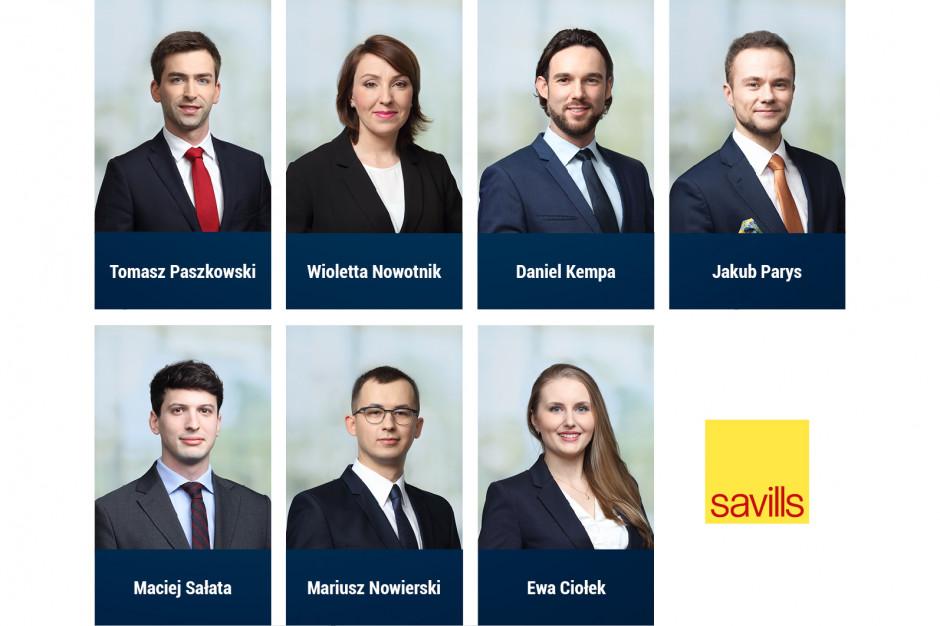 Zmiany i awanse w Savills