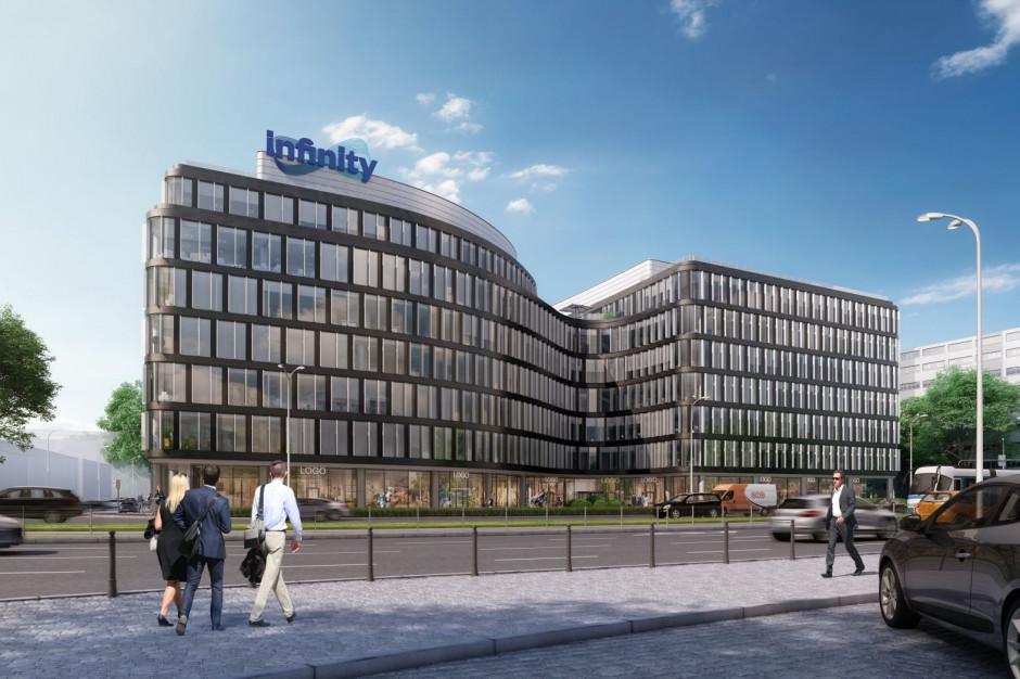 Biurowy Wrocław rośnie w siłę. Budowa Infinity na starcie