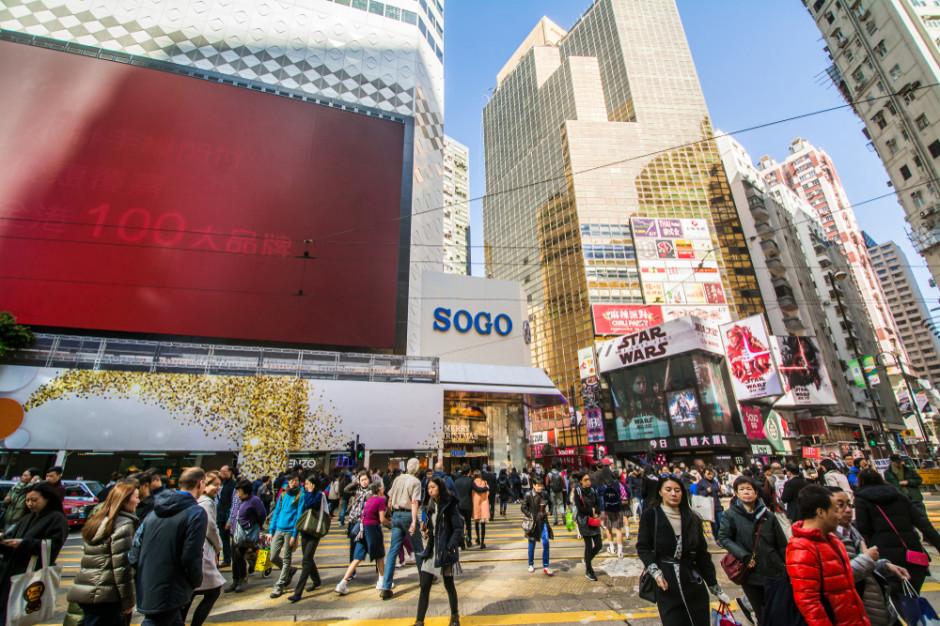 Nowa gwiazda wśród najdroższych ulic handlowych świata. Przebiła nowojorską Górną Piątą Aleję