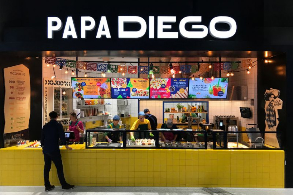 Libero pierwszym przystankiem na mapie sieci lokali Papa Diego