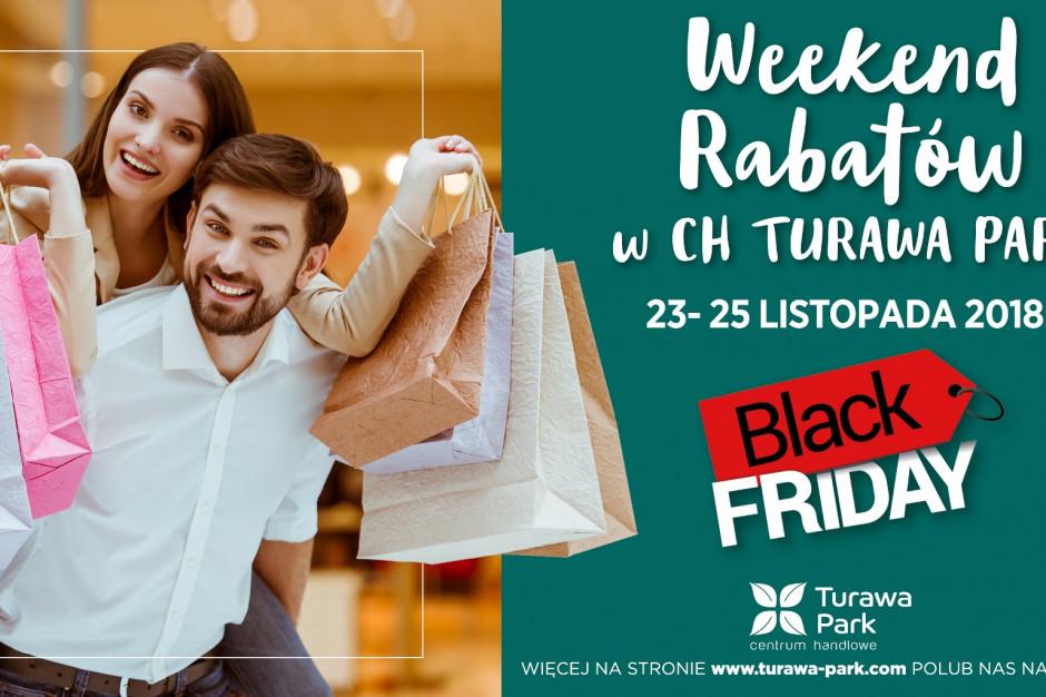 Czarny weekend w CH Turawa Park