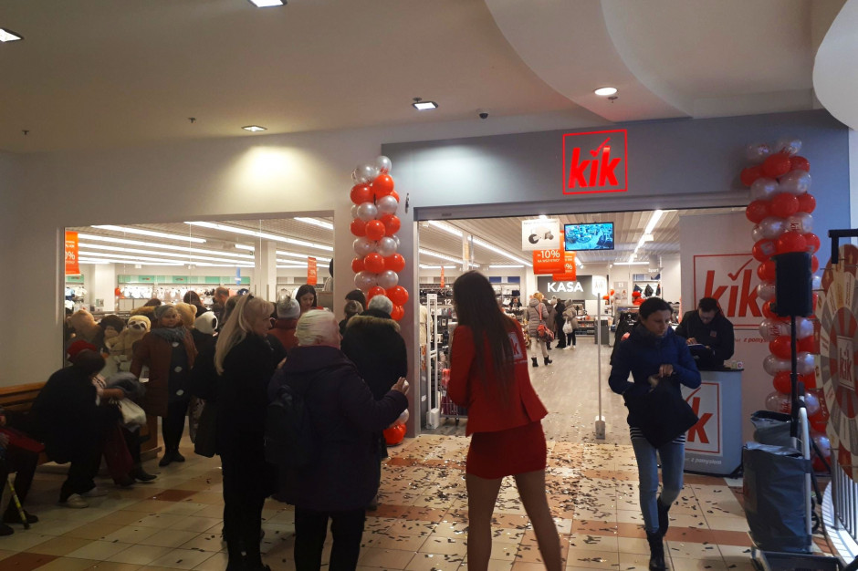 KiK otwiera sklepy w trzech centrach handlowych Tristan Capital Partners