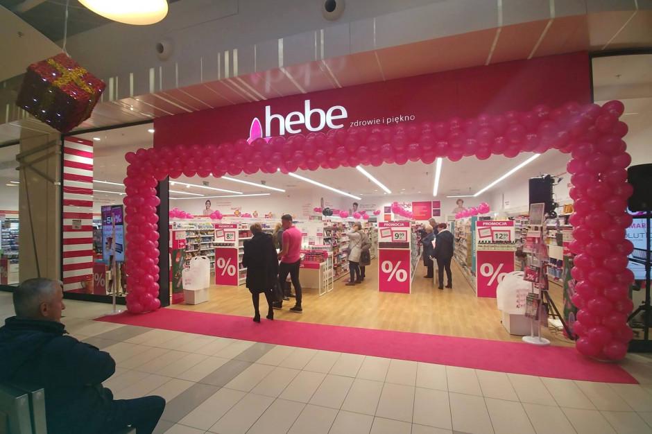 Hebe wchodzi do centrum Auchan Bydgoszcz