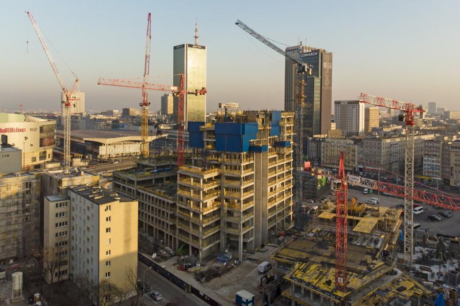 Tak powstaje najwyższy budynek w Polsce