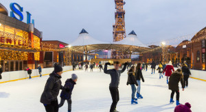 Aktywne ferie na lodowisku przed Silesia City Center