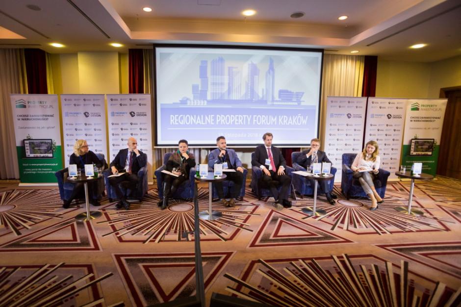 Property Forum Kraków: Wszystko drożeje oprócz stawek czynszu