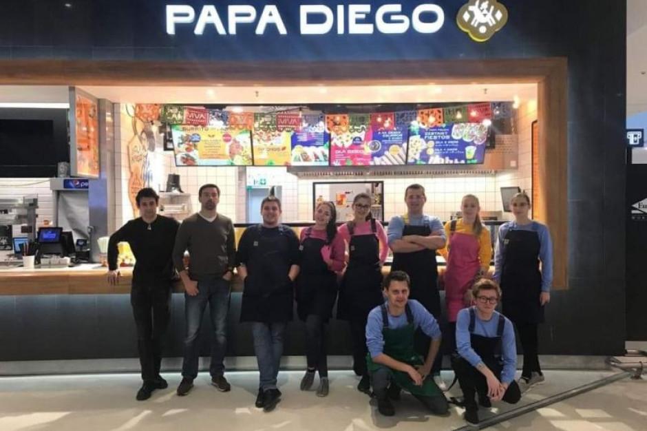 Papa Diego wchodzi do Poznania