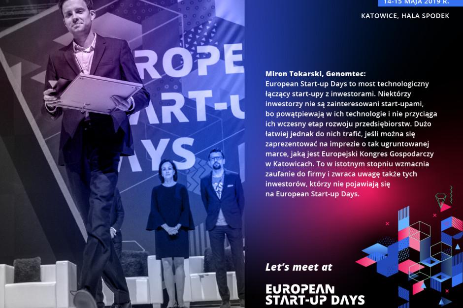 Krok w kierunku przyszłości. IV edycja European Start-up Days, 14-15 maja 2019 r.