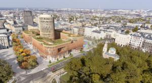 Budowa Centrum Biurowego Fabryczna musi poczekać