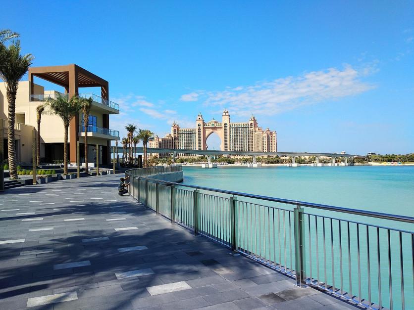 The Pointe, Palma Jumeiraha, Dubaj. Fot. Makarun.