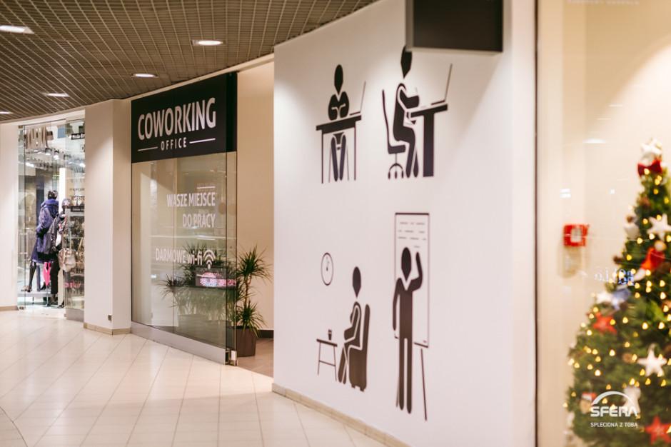 Galeria Sfera zyskała przestrzeń coworkingową