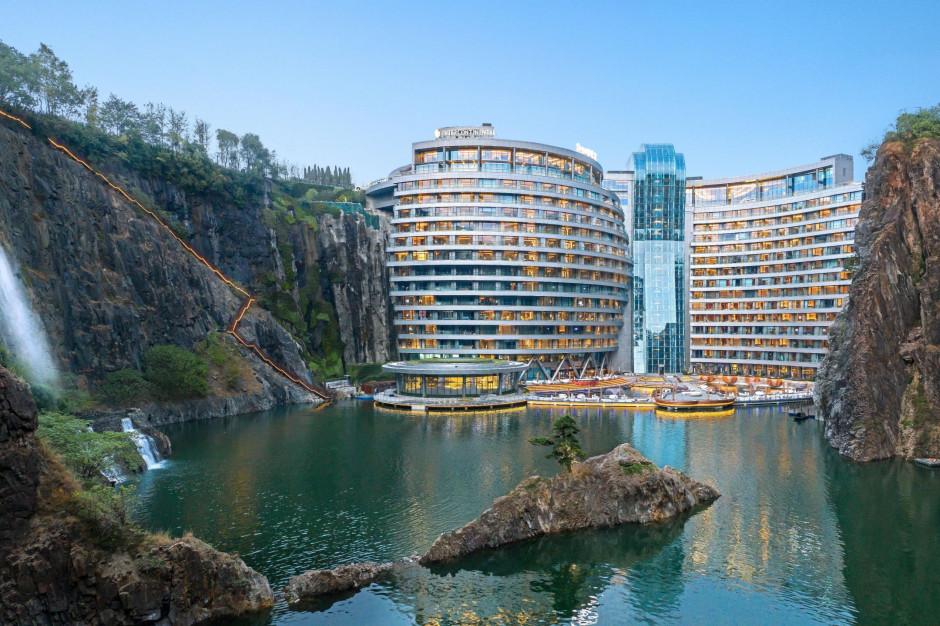 InterContinental otwiera hotel w kamieniołomie