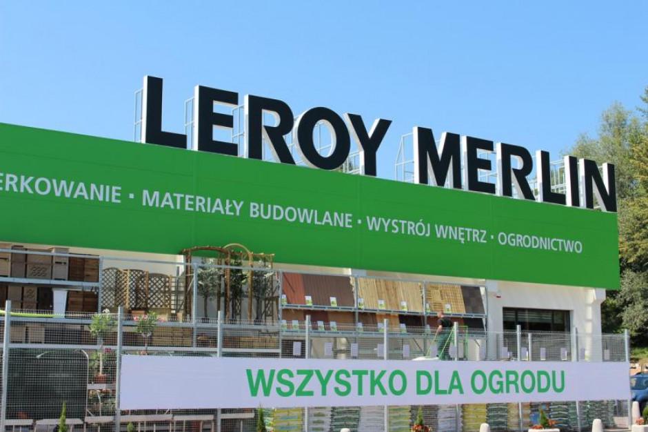 Leroy Merlin większe o trzy sklepy