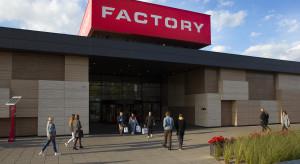 Wzrost sprzedaży w centrach Factory