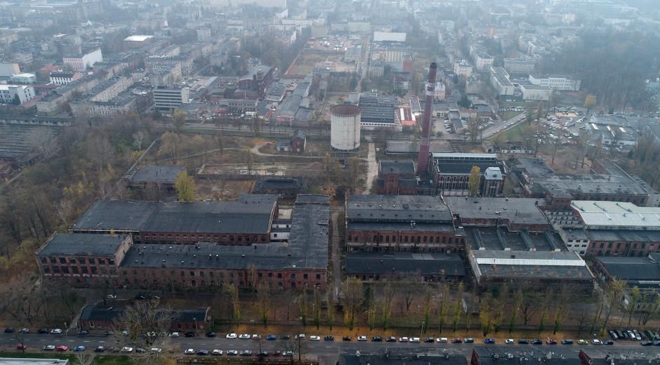Tak obecnie wyglądają opuszczone tereny pofabryczne. Fot. mat. pras.