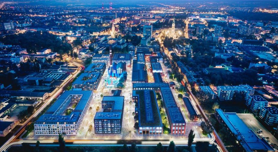 Najnowszy projekt w Łodzi zakłada transformację fabryki Scheiblera przy ul. Tymienieckiego na Księżym Młynie w przyjazny i otwarty dla wszystkich fragment miasta. Fot. mat. pras.