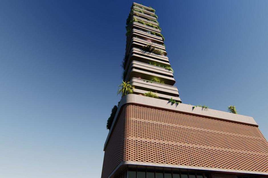 Budynek jak oczyszczacz powietrza