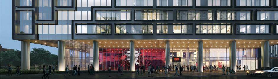 Hotel Radisson RED Warsaw w wieżowcu Liberty Tower