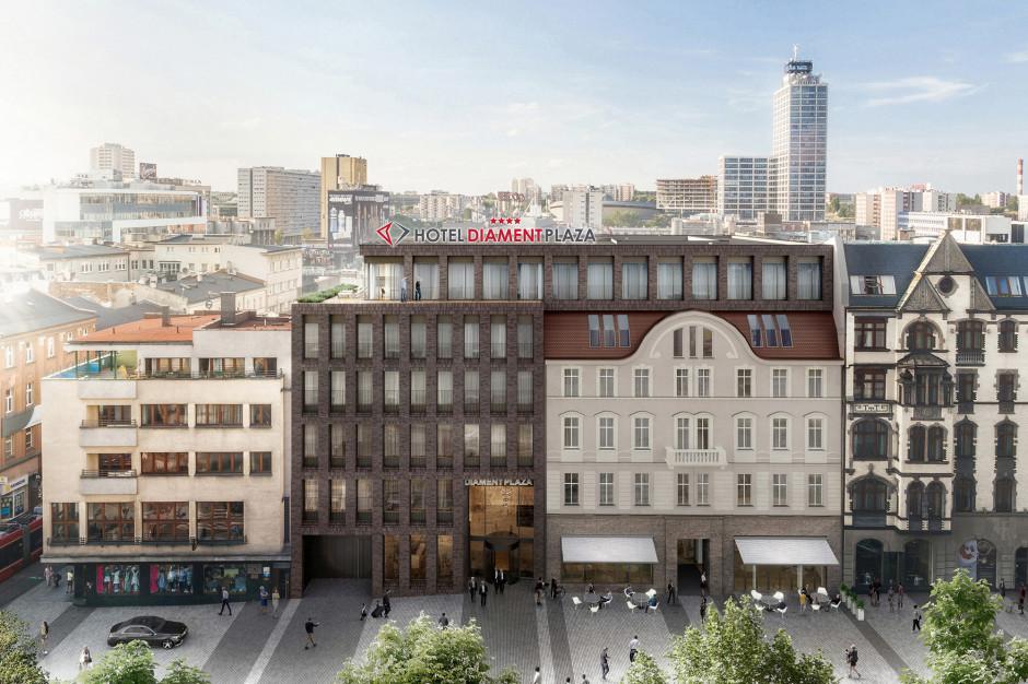 Diament Plaza Katowice zmienia oblicze