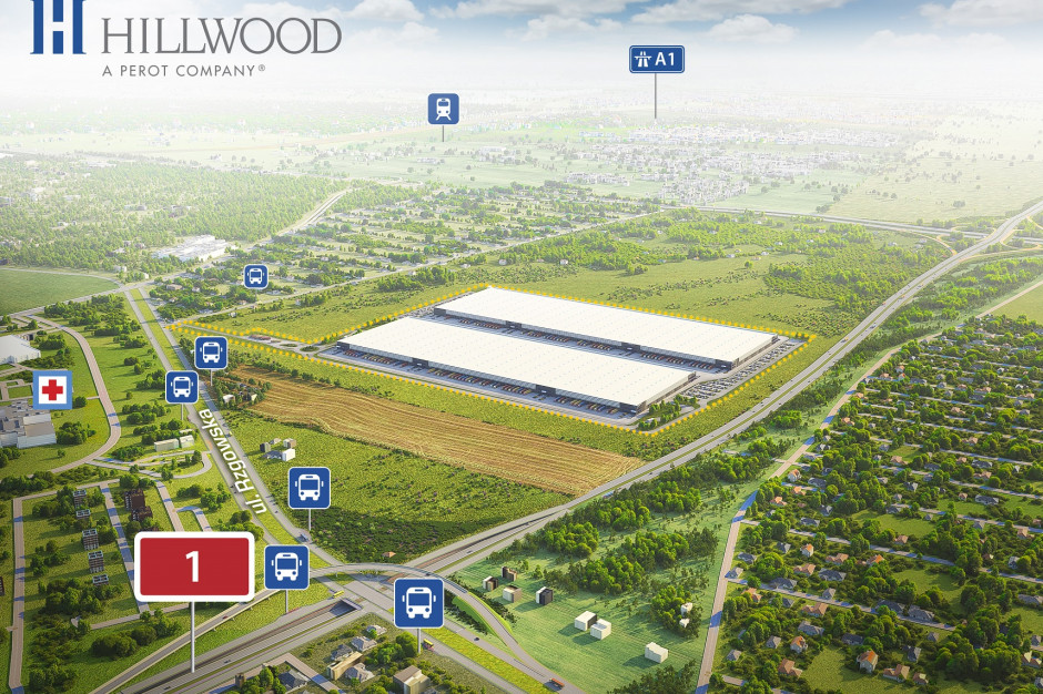 Startuje budowa Hillwood Łódź