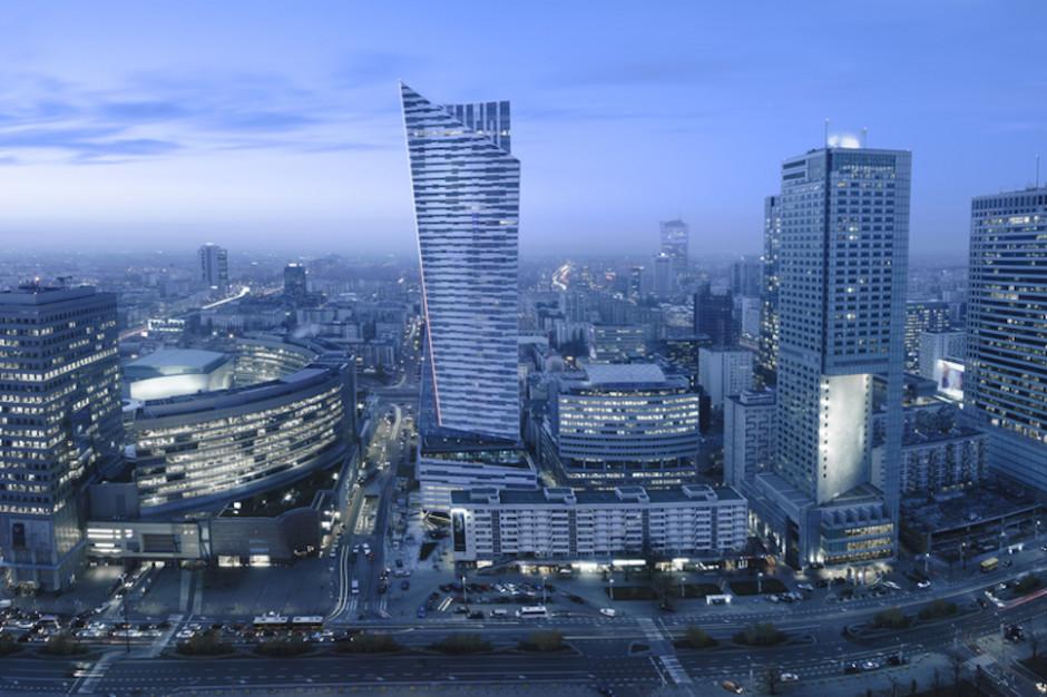Trzy czwarte zasobów w trzech dzielnicach. Oto biurowe gwiazdy Warszawy