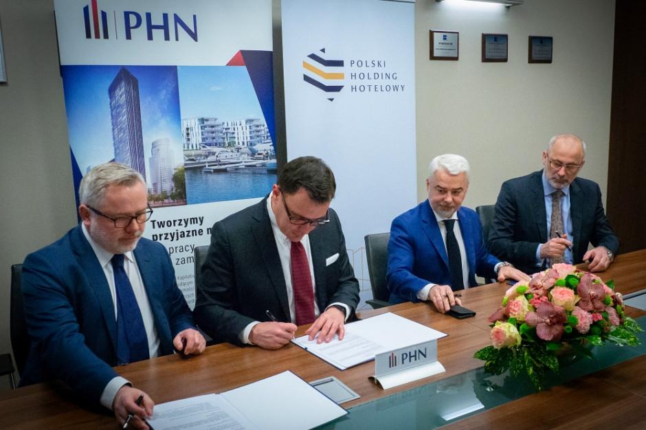 Nowy hotel na wyspie Wolin. PHH, PHN i Zarząd Morskich Portów Szczecin i Świnoujście łączą siły