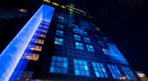 DoubleTree by Hilton Łódź na niebiesko