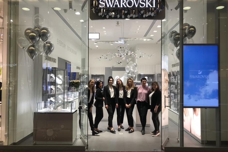 Swarovski uruchamia jeden z najważniejszych sklepów na polskim rynku