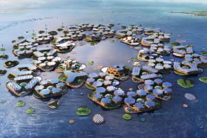 Pływające moduły miejskie receptą na globalne ocieplenie
