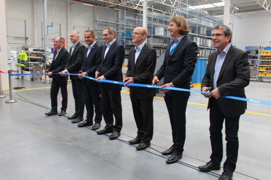 Nowy zakład produkcyjny w Tychach już otwarty