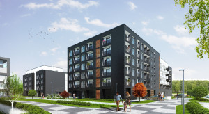 Osiedle Kwadrat stawia na lokale użytkowe o przeznaczeniu hotelowym. Trwa budowa II etapu