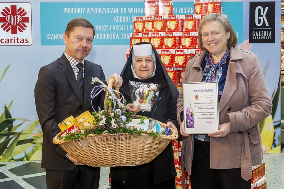 Galeria Krakowska pomaga