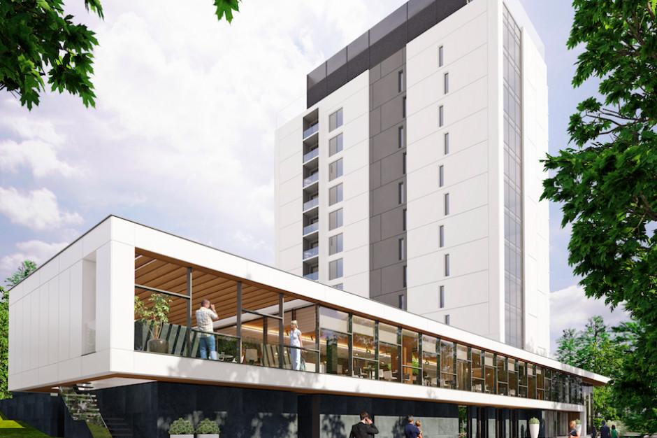 Hotelowa wieża zmieni oblicze Szczawnicy. Zobacz Pieniny Grand