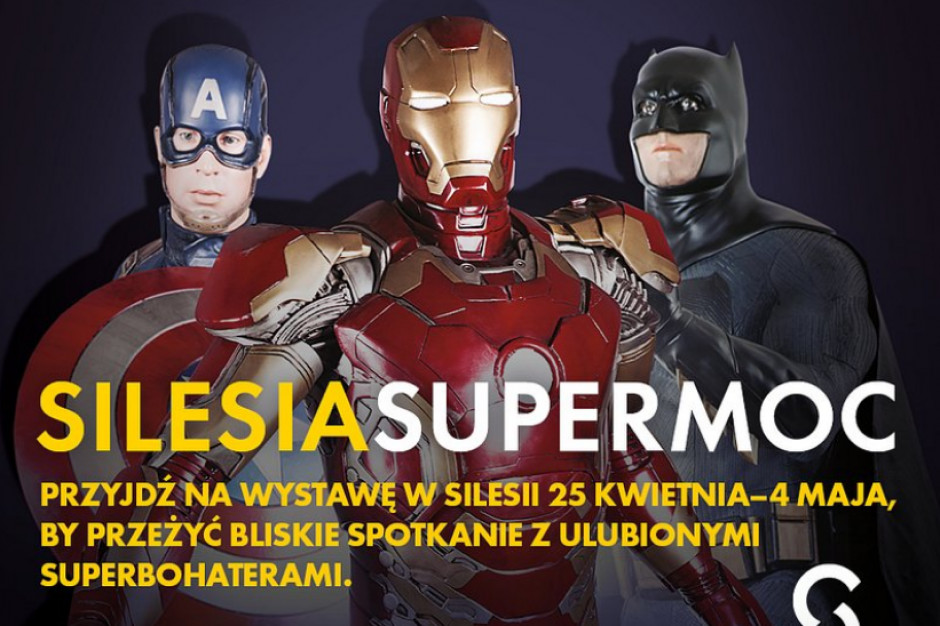 Suprebohaterowie Avengers w Silesia City Center