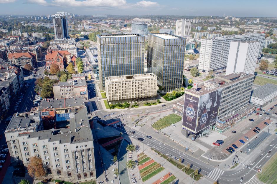 Hotel Silesia zniknął z pejzażu Katowic